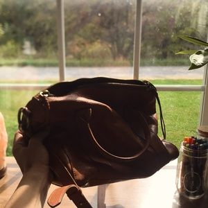 Genuine leather Madewell purse